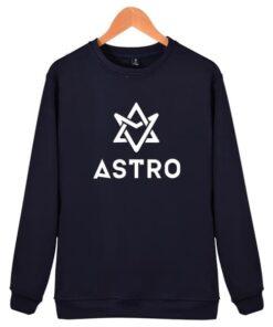Sweatshirt Astro noir coréen
