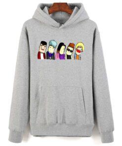 Sweatshirt coréen BigBang Gris kawaï original
