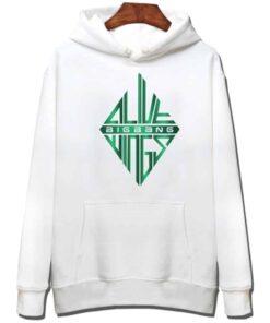 Sweatshirt coréen BigBang Vert et Blanc