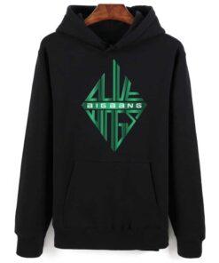 Sweatshirt BigBang Vert et Noir
