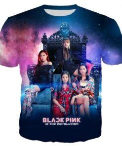T-Shirt Blackpink Magic kpop