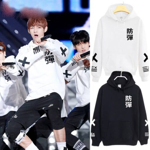 Sweat BTS noir coréen concert