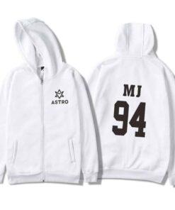 Sweatshirt Astro Blanc Logo™ MJ Kpop
