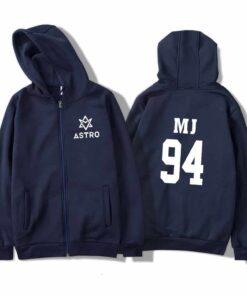 Sweatshirt Astro Bleu Logo™ MJ Kpop